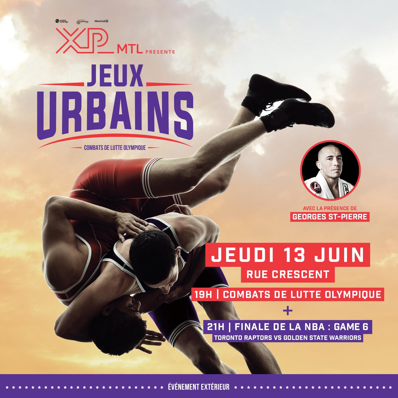 JEUX_URBAINS : Olympic wrestling