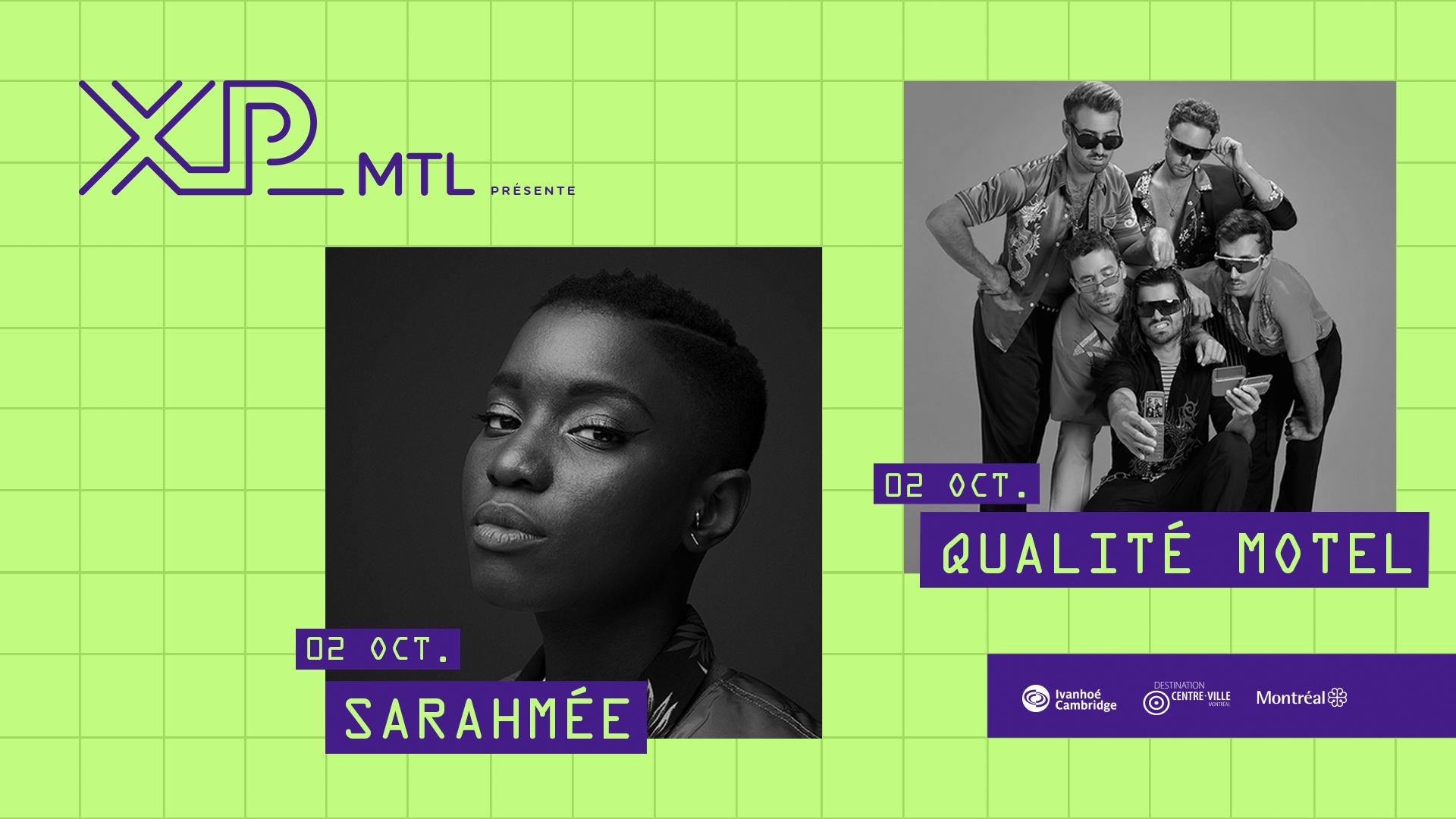 Sarahmée + Qualité Motel