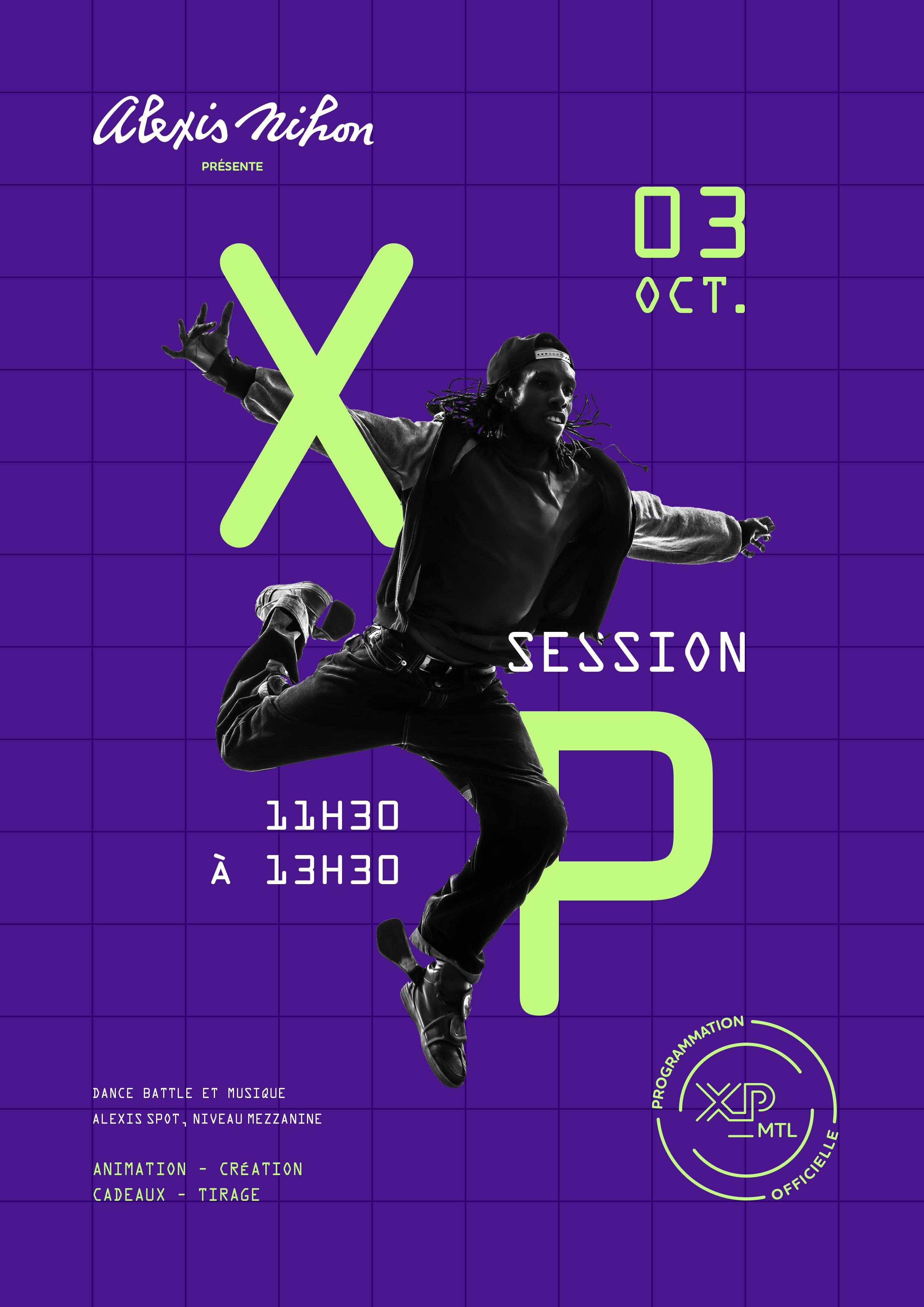 XP_SESSION DANCE SHOWCASE
