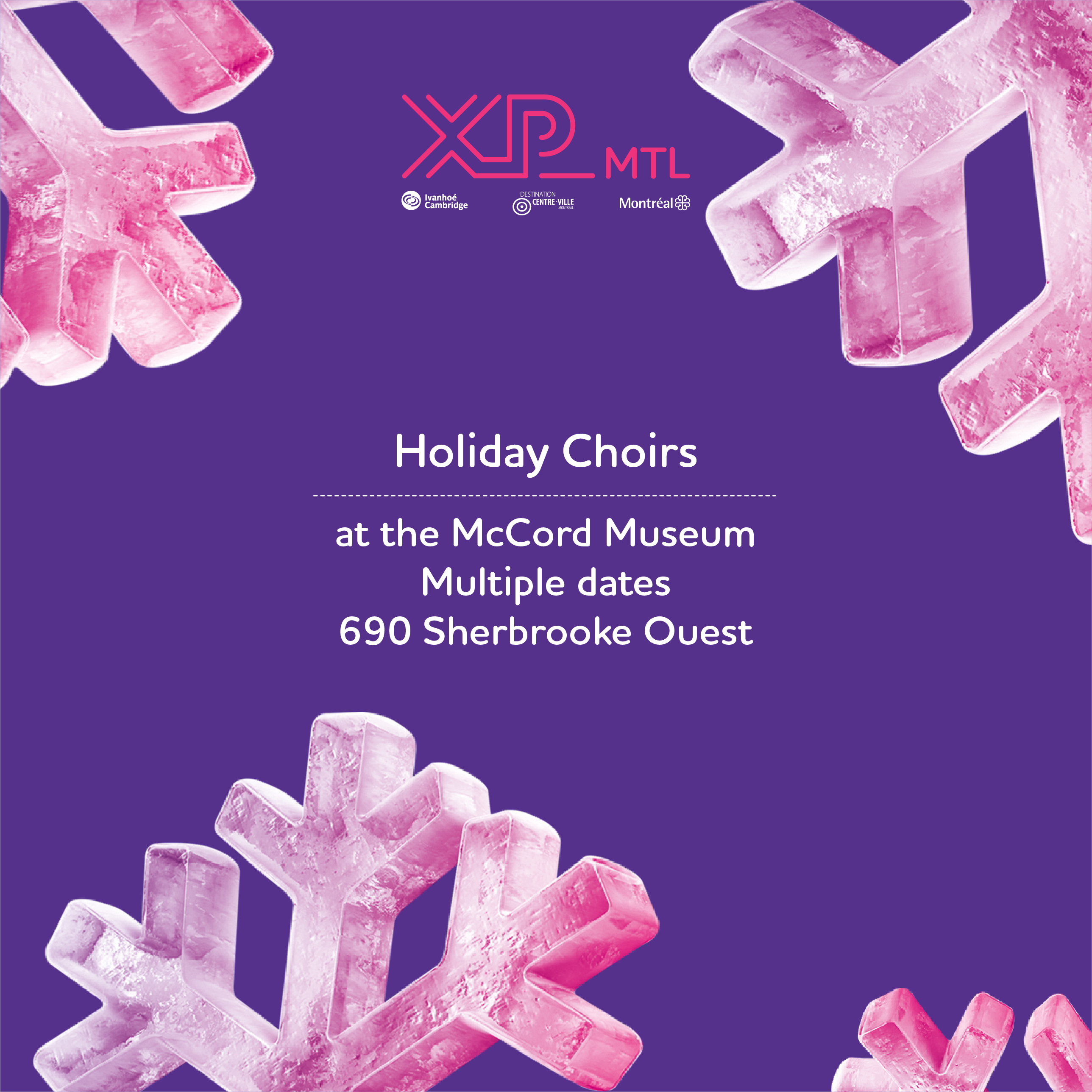 Holidays Choirs at the McCord Museum