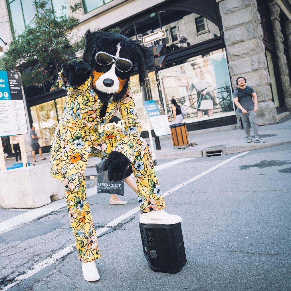 Rencontrer Réal, la mascotte du centre-ville!